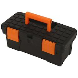 Black Plastic Tool Box, Size/dimension: 9 Inch