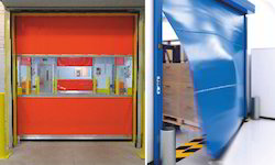 Crash Proof Rapid Shutter Door