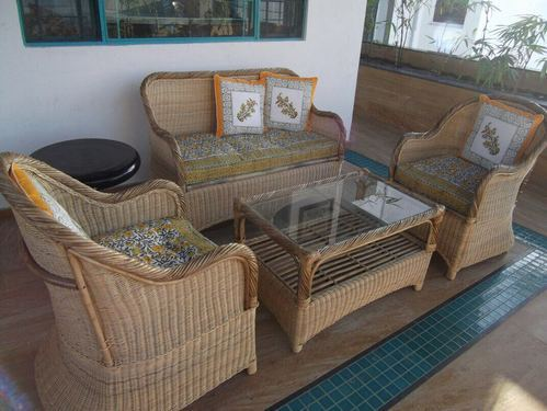 Wooden Bamboo Cane Furniture, Rs 36000 /set, Total ...