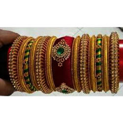Modern Silk Thread Bangle