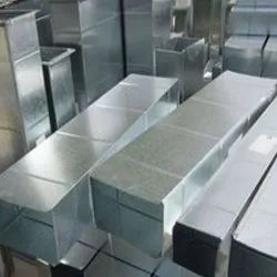 AC Rectangular G.I Duct for Industrial Use
