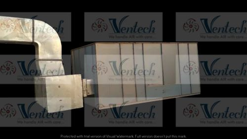 VENTECH Single Skin Air Cooling Unit, Capacity: 3000 Cfm To 100000 Cfm, for Industrial Use