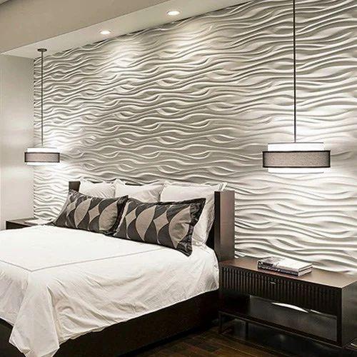 Pvc 3d Wall Panels, For Walls, Mopari Interiors