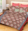 Traditional Cotton Double Printed Bedsheets