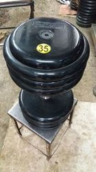 Nitrile Rubber Dumbbells