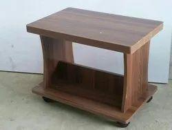 Brown Rectangular Center Table, Size: 30