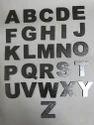 Silver Alphabets