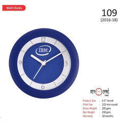Blue Table Cum Wall Clock