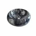 Round Black Marble Wash Basin