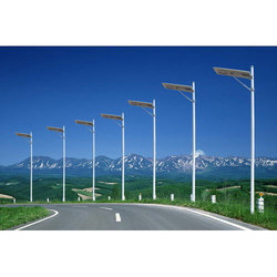 Integrated Solar Street Light Pole