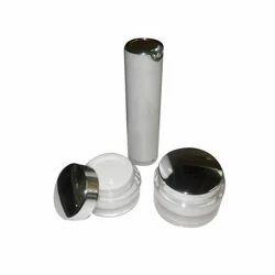 Acrylic Cream Jars and Lotion Bottle