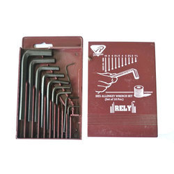 RELY ALLEN KEY SET, Size: 1.5 Mm To 10 Mm