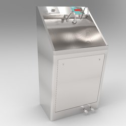 1 Bay Foot Operated Scrub Sink