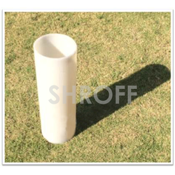 SHROFF White Silicone Rubber Sleeve