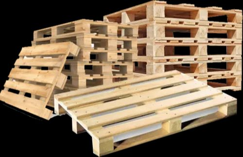 Pine Wood 2 And 4 Way Used Pine Wooden Pallets for Industrial, Rs ...