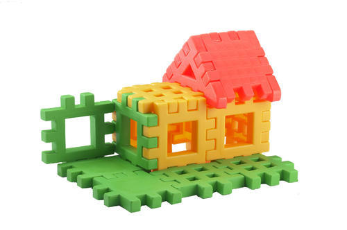 Happy Home Jumbo House Building Blocks Educational Learning