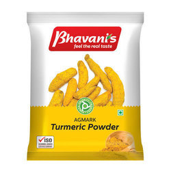 Erode Turmeric Powder, Packaging Type: Packets