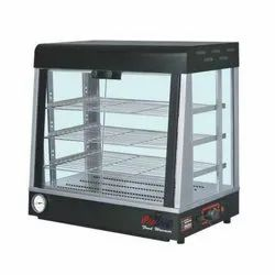 Prochef HCFD-002 Table Top Hot Glass Display Counter, For Restaurant, Power Consumption: 1 Kw