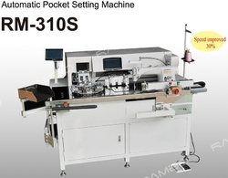 Automatic Pocket Setting Machine (RM-310S)