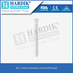 6.5mm Cancellous Screw (Full Thread)