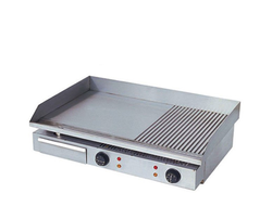 Table Top Griddle Half Grill & Half Smooth GH 822