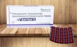 Tri-fluperazine 5 mg, Tri-hexiphenidyl 2 mg & Chlorpromazine 50 mg