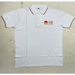 Cotton Polo Neck Mens Half Sleeve Sport T-Shirt, Size: XL, Packaging Type: Plastic Bag