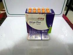 Amitryptyline Hydrochloride 12.5mg   Chlordiazepoxide 10mg Tablets(A-TRYP PLUS)