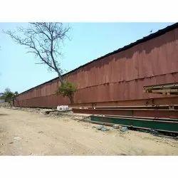 Steel Prefab Temporary Industrial Rental Sheds, in Local