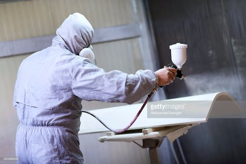 Spray Painting Service With Paint