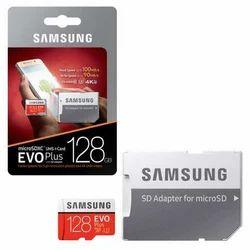 Samsung EVO Plus Memory Card, Memory Size: 128 GB