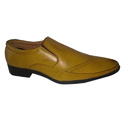 Plain Tan Formal Shoes, Packaging Type: Box