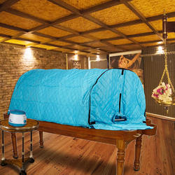 Kawachi Portable Steam Sauna Bath with Sleeping Posture to treat Old Aged / Paralytic Patients / Dis