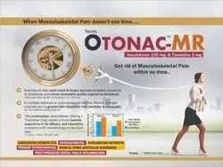 Aceclofenac 100 mg & Tizanidine 2 mg (Film Coated Tablets)