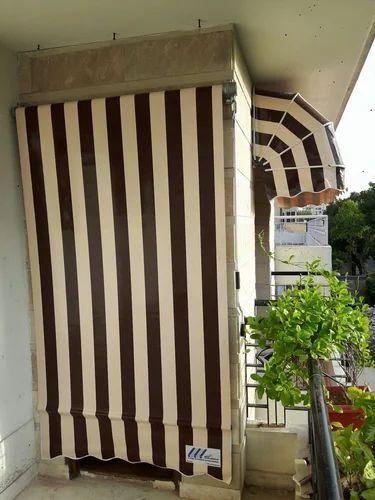 Waterproof Door Vertical Drop Awning