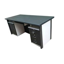 Paint Coated Rectangular Stainless Steel Study Table