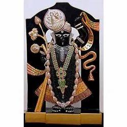 Marble Lord  Dwarkadhish  Statue