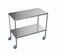 SS Surgical trolley