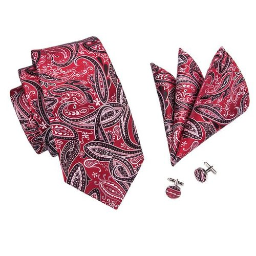 Multi Colored Paisley Tie