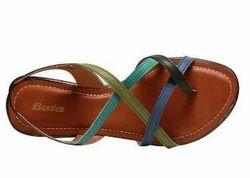 Bata Brown Heel Sandals For Women F661502700