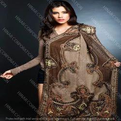 Fancy Boil Wool Embroidery Shawls