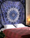 Cotton Mandala Multi Color Decorative Boho Multi Uses Wall Hanging Tapestry