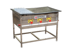 SS Chapati Puffer Plate, for Commercial