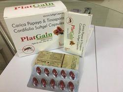 Carica Papaya Extract, Tinospora Cordifolia Softgel Capsules