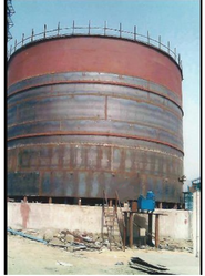 Cryogenic Liquid Oxygen Storage Tank