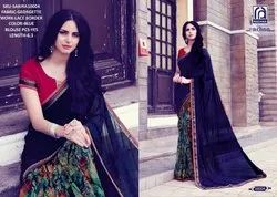 Rachna Georgette Shakira Catalog Saree Set For Woman 4
