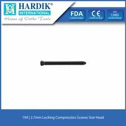2.7mm Locking Compression Screws Star Head