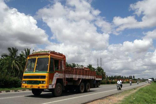 South India Transport Service, Goods Transportation