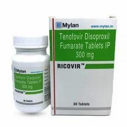 Ricovir Tenofovir Disoproxil Fumarate Tablets IP