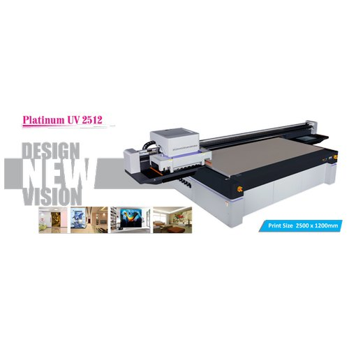 Uv 2512 Platinum Uv Flatbed Printer